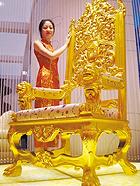 黄金打造奇葩奢侈品