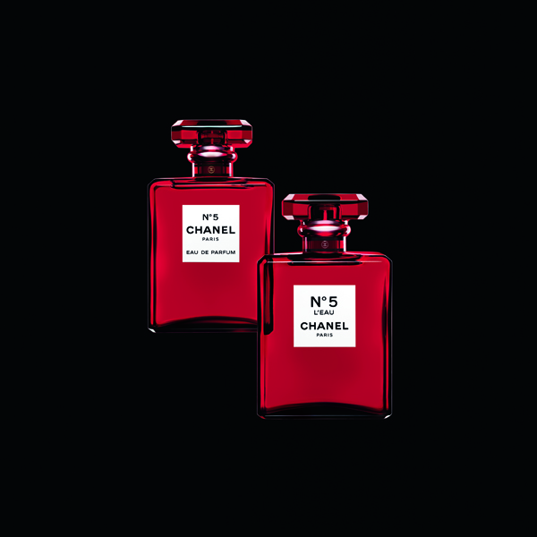 Chanel五号之水红色限量版100ml(图片来源:品牌提供)