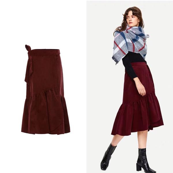 UR鱼尾半裙 价格约299元