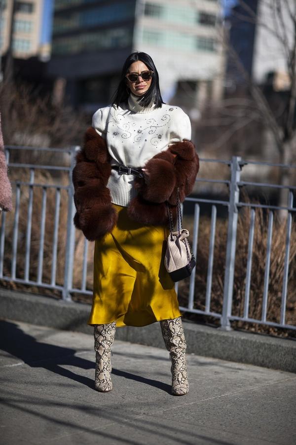 纽约时装周达人街拍