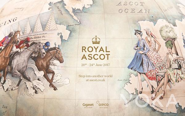 安妮女王创办英国赛马会(图片来源于Ads of Brands)