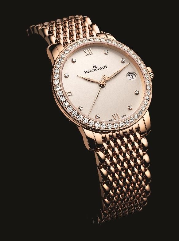 宝珀Blancpain女装系列日期显示腕表