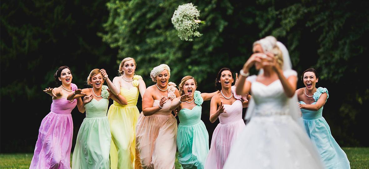 婚礼细节控:除了抛出去