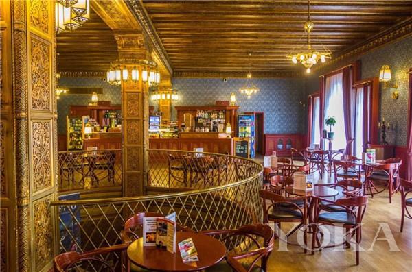 RUSZWURM咖啡馆(图片来历于Szeretlek Magyarország)