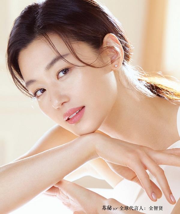苏秘37°(su:m37°)宣布全智贤为全球品牌代言人