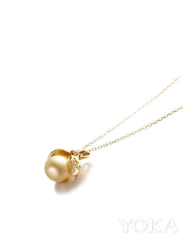 单品推荐:CIRCLE 18K黄金南洋金珠Ma perle项链(图片来源于品牌)