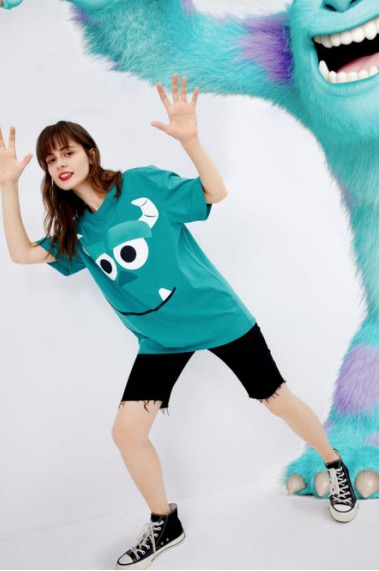 SEIFINI诗凡黎《怪兽大学》合作系列模特片