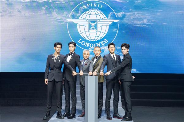 浪琴表副总裁李力先生携品牌好友揭幕全新先行者系列(图片来源于品牌)