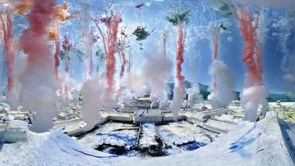 虚拟现实作品《梦游紫禁城》靜幀 蔡工作室提供
