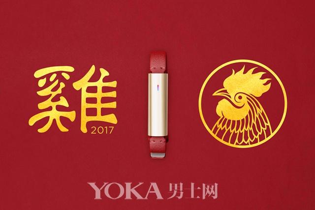 这款Misfit Ray中国红好适合做圣诞新年礼物