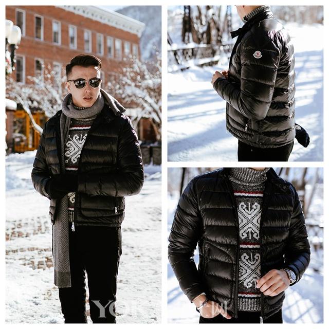 虽然这个亚裔博主不帅 但是他这5套冬天打扮我服
