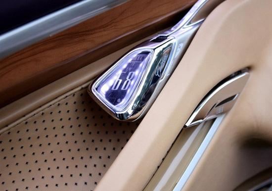 敞篷车,同样采用的是凯迪拉克钻石切割的设计理念 高清图片