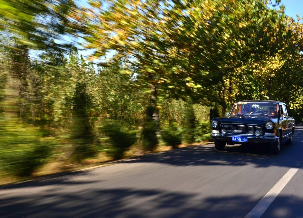 老式汽车中国巡礼 国人骄傲红旗CA770图赏高清图片