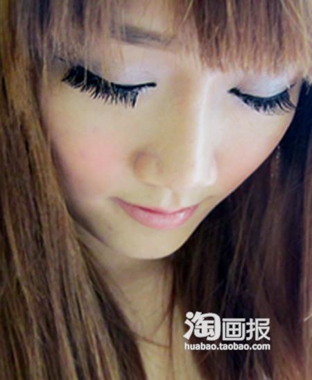 教你打造日系甜美电眼妆容,让小眼瞬间变大 32图片