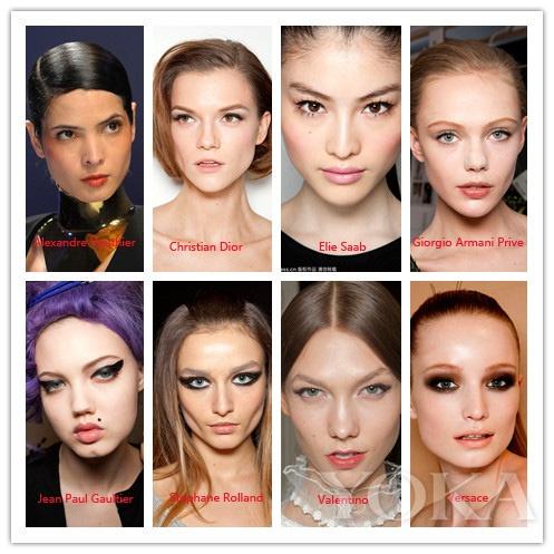 2012巴黎春夏高级时装周妆容