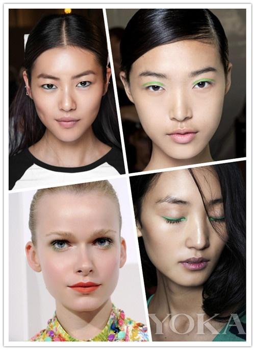 4种局部眼妆新画法