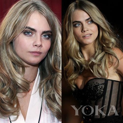 Cara Delevingne Before&After