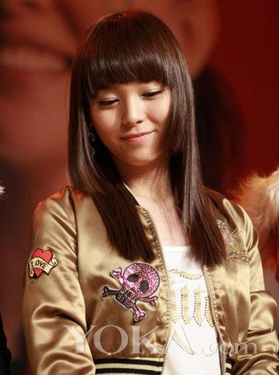 学韩国人气女星 婉约气质发型