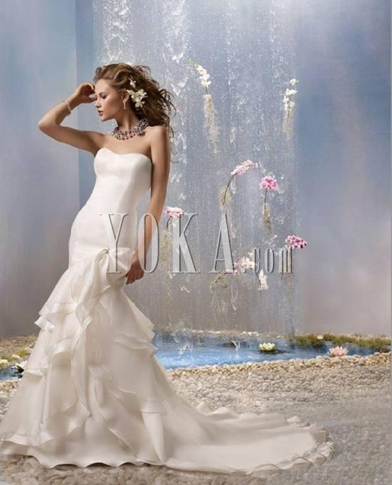 唯美欧式婚礼发型展示(2)图片