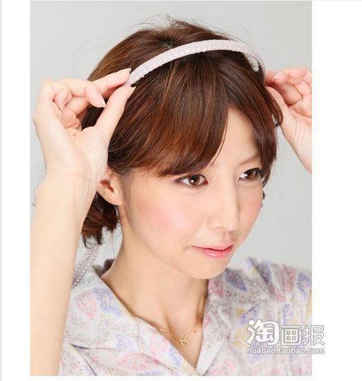 短发也能梳编发 洋气短发造型(27)