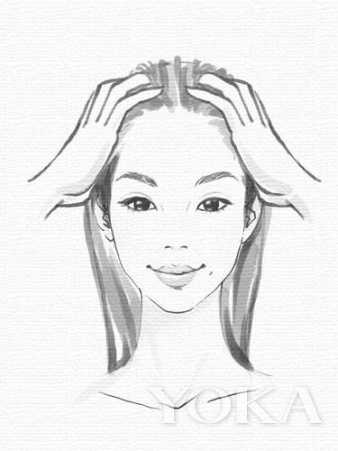美发素描步骤图片