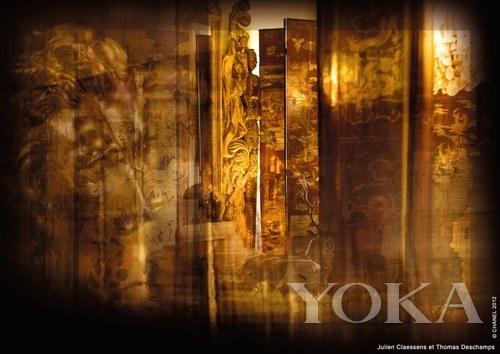 香奈儿寓所的乌木漆面屏风、水晶狮子和威尼斯湖面夜景构成了这款新香的视觉意象。