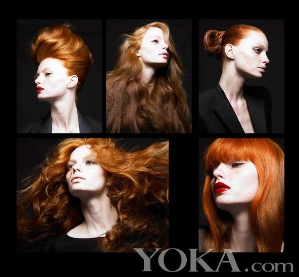 2010年1月中国版《vogue》美发作品图片