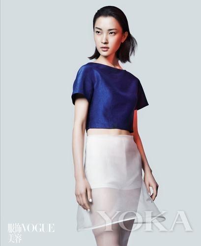 文艺范儿印花女王 时装设计师刘清扬