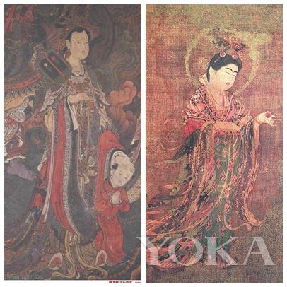 中国法海寺壁画 右图片