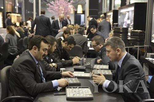 伊斯坦布尔珠宝展 全球人关注
