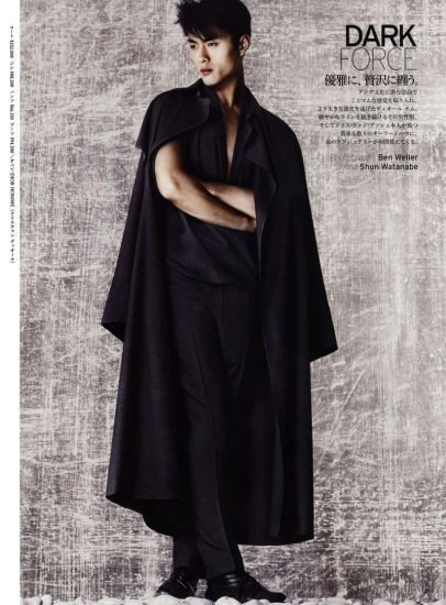 日本著名男模特