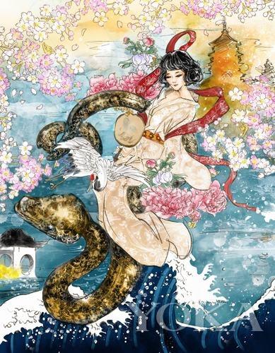 神话故事手抄报初一-让神话浓缩到一帧画面之中 2