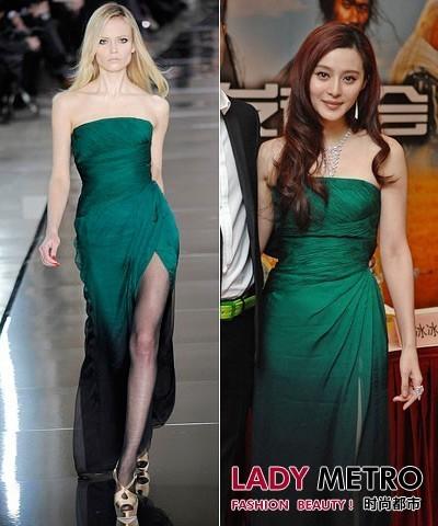 亚洲女星越穿越大牌 谁是真正红毯女神