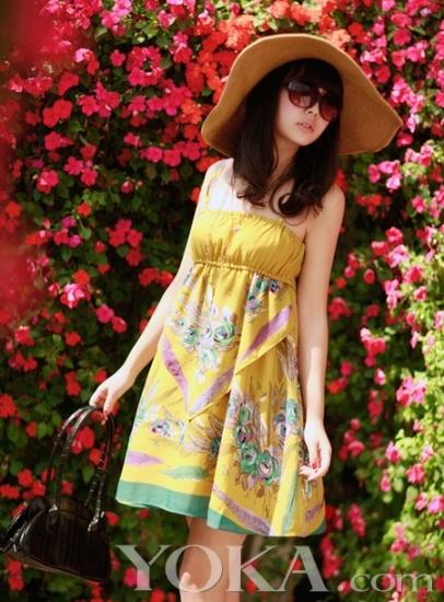 雪纺变身爱丽丝 假期去约会 - 37铺 - 2010穿衣打扮-服装搭配