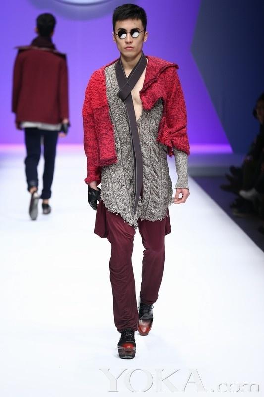 威丝曼 2013中国针织时装设计大赛(12)