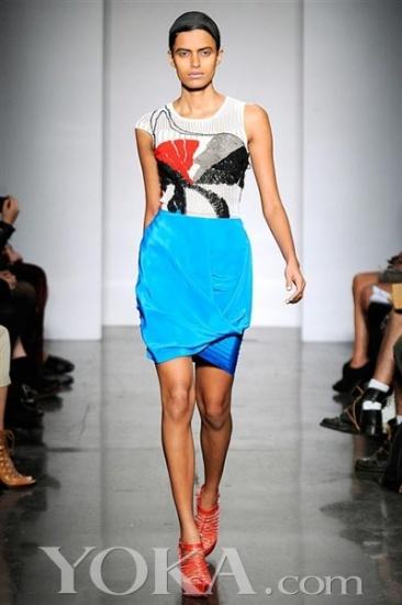 2010纽约春夏时装周 Ohne Titel诠释埃及壁画灵感 5