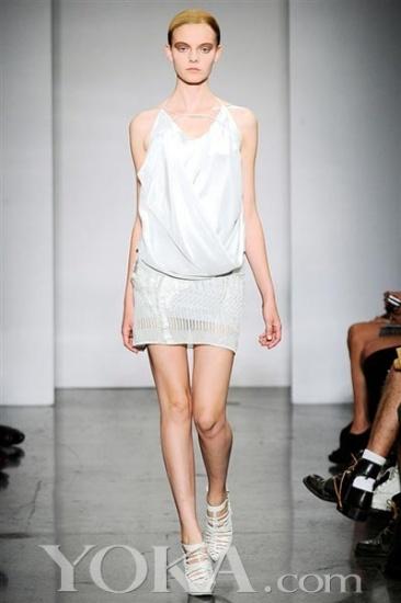 2010纽约春夏时装周 Ohne Titel诠释埃及壁画灵感 18