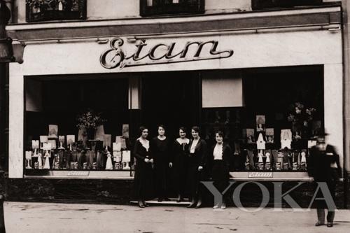 1916年的Etam 专卖店