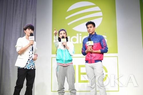 彭于晏与Angelababy分享adidas NEO Label全球首支广告片拍摄花絮