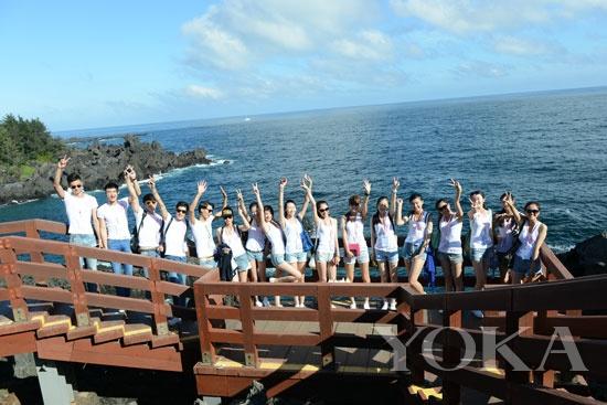 济州岛合影; 2013上海国际模特大赛上海赛区总决赛