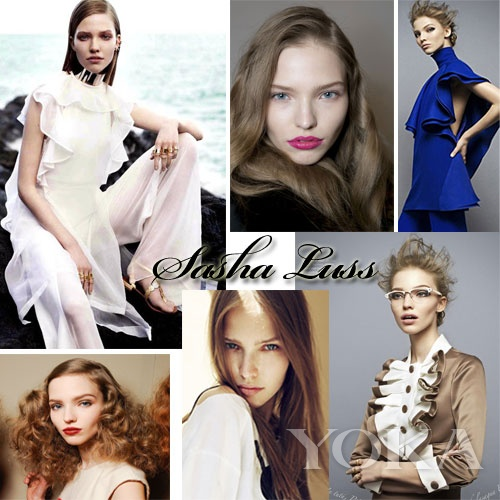 新面孔超模Sasha Luss