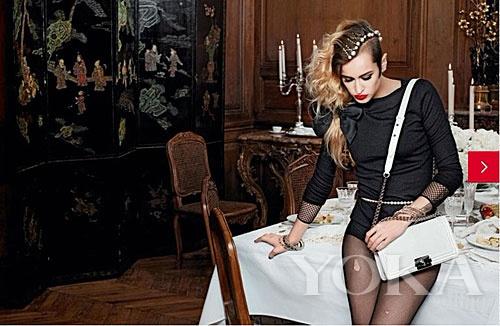 2012年Chanel le boy系列手袋广告大片