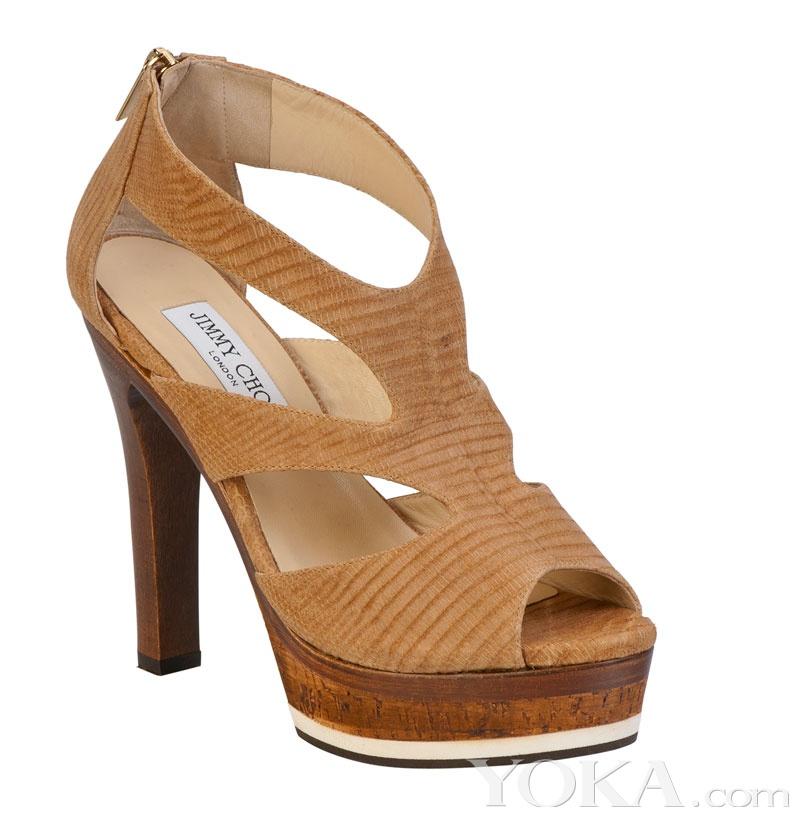 jimmy choo捆绑式凉鞋