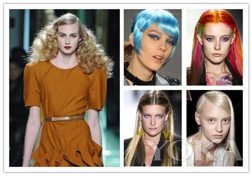 t台上模特发色百变,你最爱哪款?