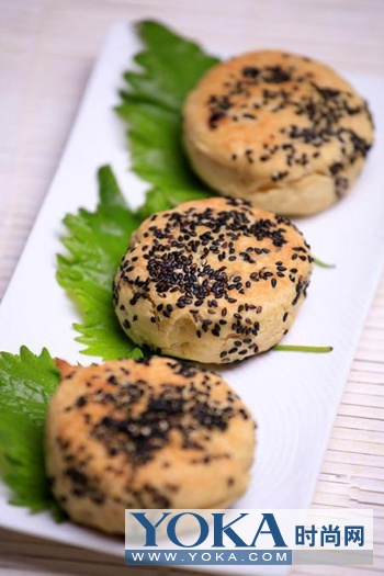 桂花栗子饼