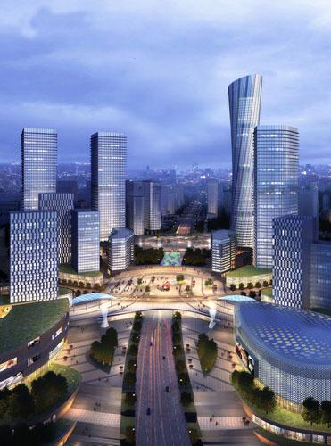 泸州·佳乐世纪城,就在这里.佳乐世纪城占地面积1856亩,建筑高清图片