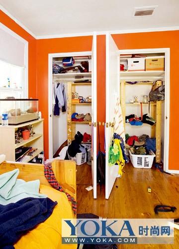 宅屋收纳大瘦身 房间不再杂乱无章