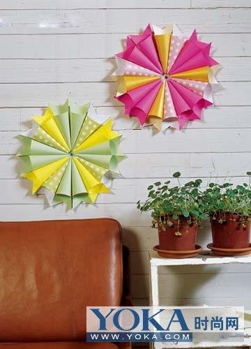 纸折灯笼,隽秀玲珑,不仅照亮了夏日的夜晚