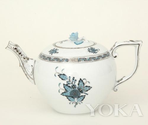 阿波尼-茶壶-蓝色