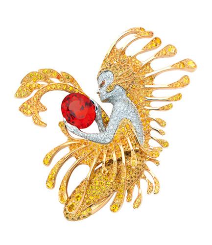 Van Cleef & Arpels 高级珠宝胸针